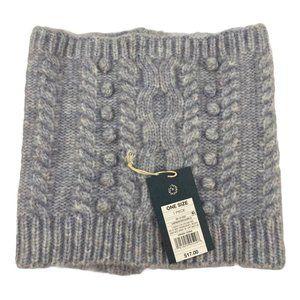 Universal Thread Purple Pom Pom Sweater Knit Scarf